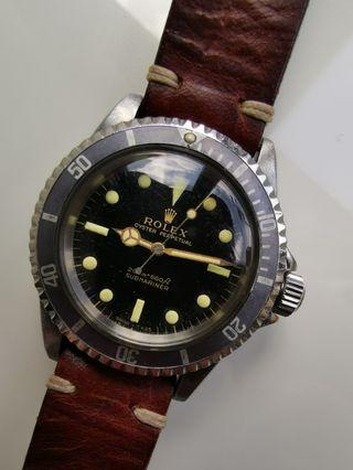 Rolex Vintage Submariner Gilt 5513
