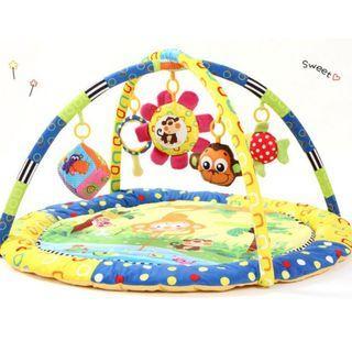 Animal Theme Baby Activities Gym - Animal monkey playmet