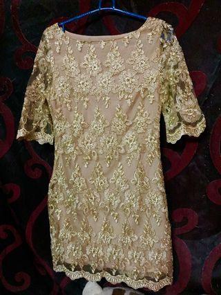 mini kurung full lace set skirt duyung (tailor made) saiz XS/S