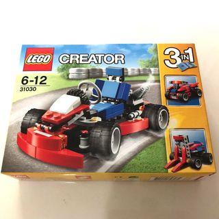 🚚 LEGO Creator 3 in 1 - Red Go Cart 31030