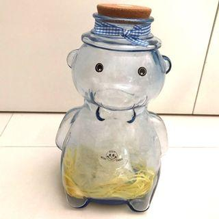 🚚 Big Bear Shape Glass Bottle/Container