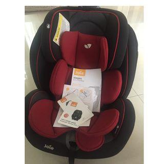 Joei meet stage car seat (used 2x only)