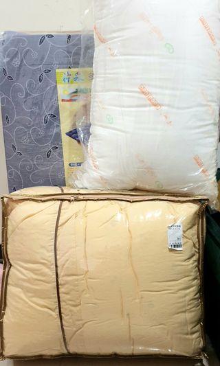 《開學季》宿舍床墊 棉被  枕頭組(含床墊套 被單  枕套)