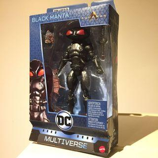 "6"" MISB Black Manta DC Multiverse ( AquaMan Movie DC DCUC )"
