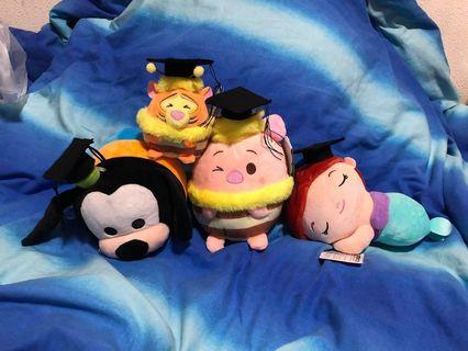 Disney graduation plush