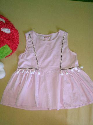 Tantop baby pink