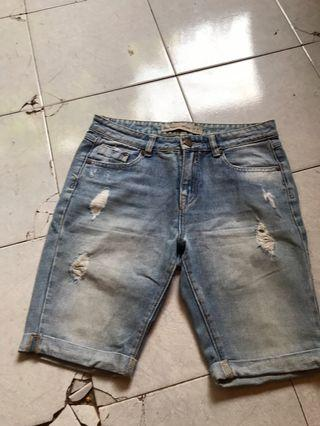 Boyfriend short Newlook ori 100%