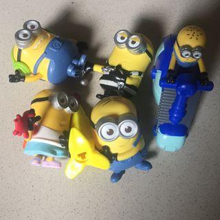 Minions by happy meal