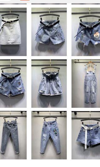 Jeans / dress/shorts