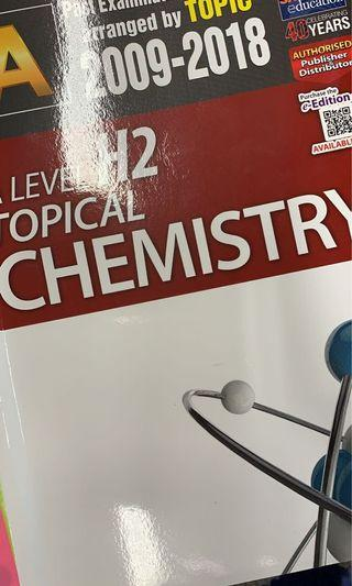 A LEVEL H2 CHEMISTRY 2009-2018 TYS