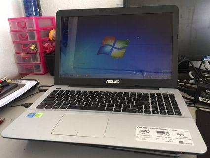 Laptop Asus Core i5 4th Gen