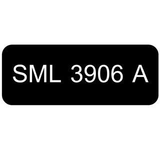 Car Number Plate for Sale: SML 3906 A
