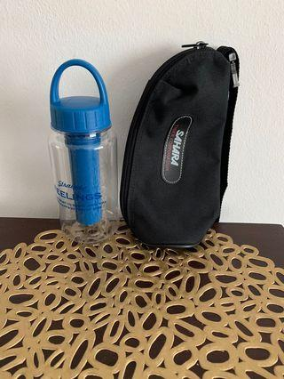 Bottle and Carrier
