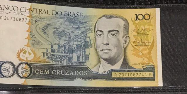 🚚 100 CEM CRUZADOS - Central Bank of Brasil