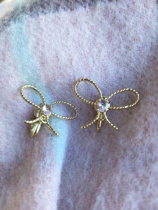 Authentic Les Nereides Paris clip on earrings