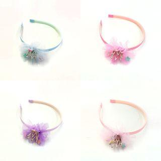 Adorable Princess Metallic Crown Headband Kids Accessories
