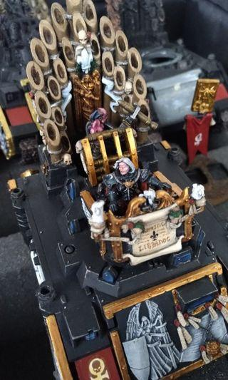 WARHAMMER COLLECTION WITH TROLLEY HARDCASE