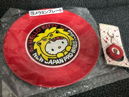 Sanrio 19 新款Hello Kitty大碟連匙扣Japan only Large rubber dish