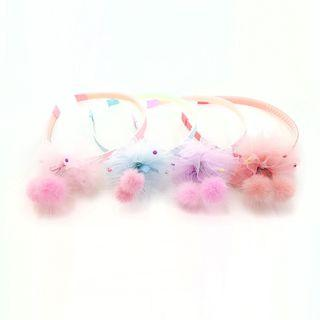 Cute Pompoms Headband Kids Accessories