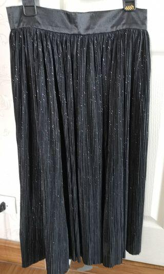 Pleated Skirt - Olivia skirt in shimmer