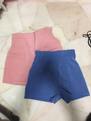 🚚 High Waist Shorts