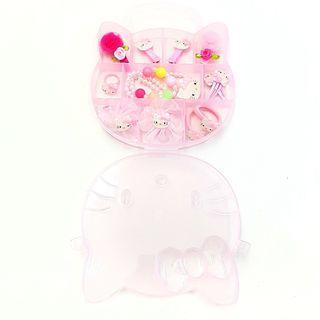 Sweet Hello Kitty Jewellery Box 12pcs Set