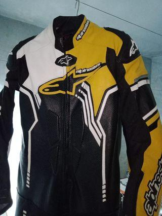 Alpinestar Motorbike Leather Racing Suit One pice