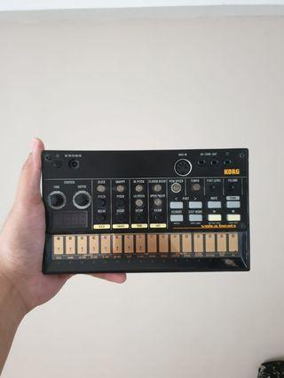 KORG VOLCA BEATS (MINT CONDITION WITH BOX)