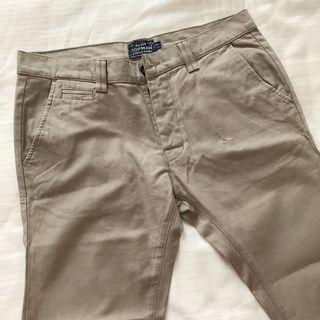 Topman Skinny Jeans Khaki