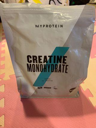 My protein creating monohydrate