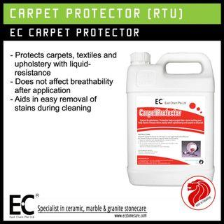 EC Carpet Protector for Textiles Carpet Upholstery Sofa Furniture Liquid-Resistance [Made in SG]