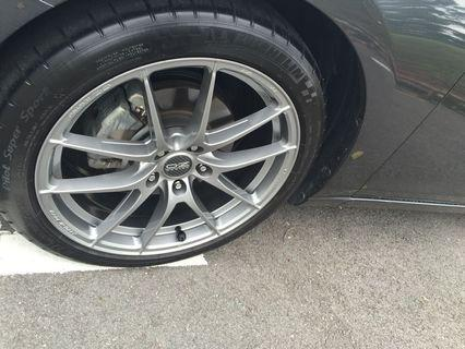 Mazda 6 Stock Front Brake Callipers,Pads (95%) and Rotor set (GJ)