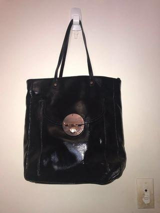 Mimco turnlock shopper tote