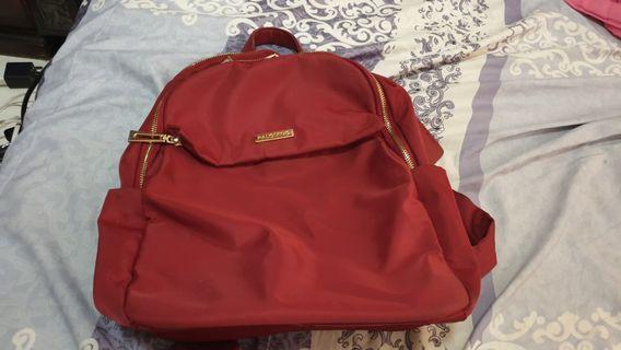 Red backpack Palomino / RED Bag /Ransel cewek