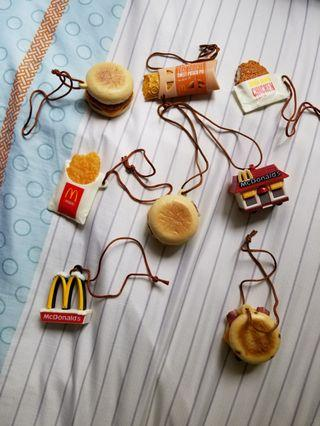 McDonald's 食物飾物