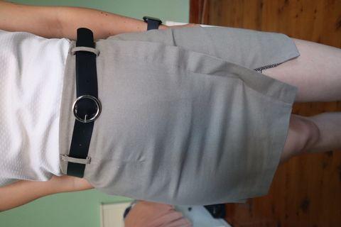 Khaki Skirt minus belt