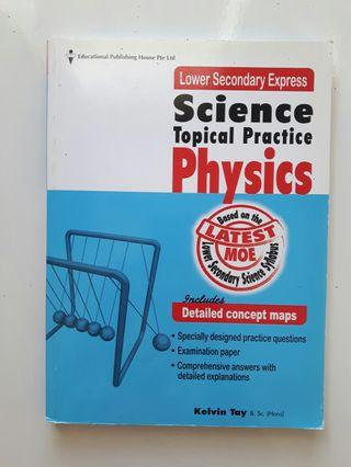 🚚 Physics assessment book Secondary 1
