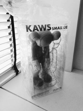 Kaws Small lie (grey) - authentic