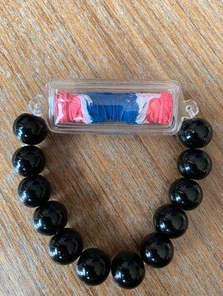 Butterfly swissroll bracelet