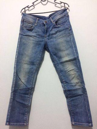 Light Blue Jeans Mango