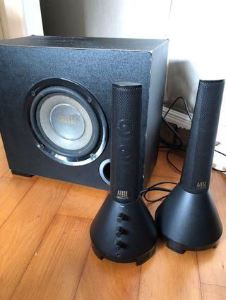 Altec Lansing speaker 電腦 喇叭 音響