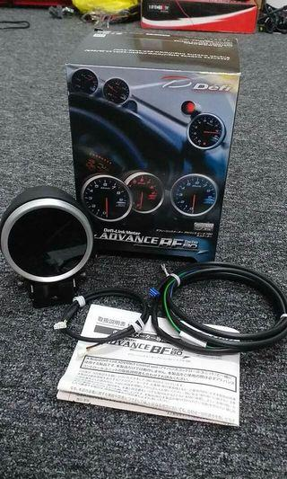 Defi advance Bf 80mm Rpm meter