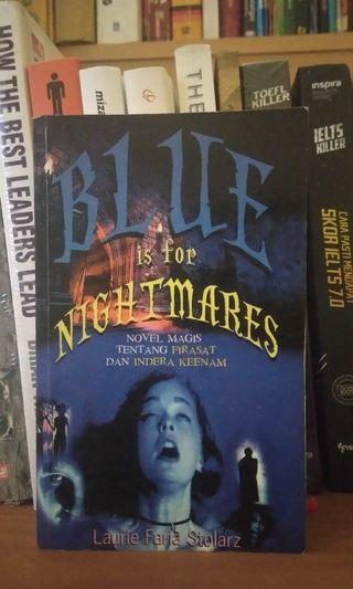 Novel bekas/Novel preloved Blue Nightmares #mauthr