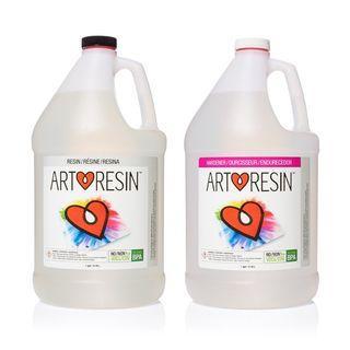 NEW Art Resin Epoxy 2 US Gallon Kit