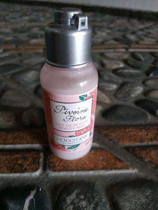 L'occitane hand & body lotion