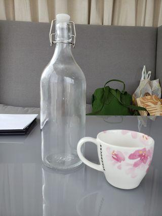 Starbucks 櫻花杯及玻璃水樽