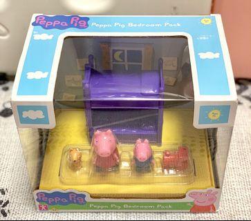 Peppa Pig's Bedroom Pack 小豬佩奇 玩具 睡房套裝