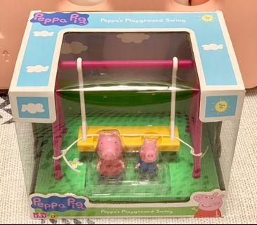 Peppa Pig's Playground Swing 小豬佩奇 玩具 鞦韆 套裝