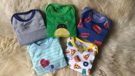 Carter's 5-pack Junior Bodysuits