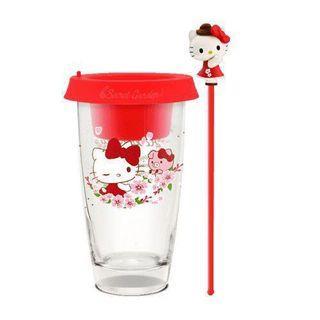 🚚 三麗鷗玻璃盆栽杯組 HELLO KITTY
